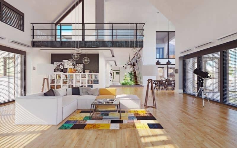 תמונה של דירה מעוצבת בסגנון קלאסי ומיוחד
